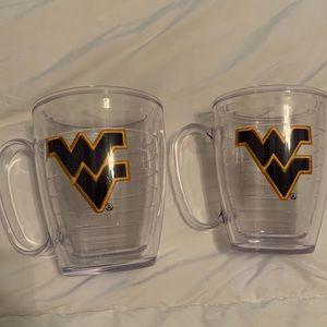WVU Tervis cups